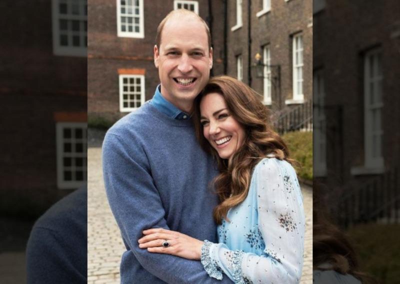 Príncipe William e Kate comemoram aniversário de 10 anos de casados
