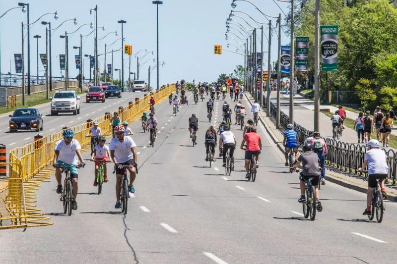 Essas são as estradas fechadas para o retorno do ActiveTO a Toronto neste fim de semana
