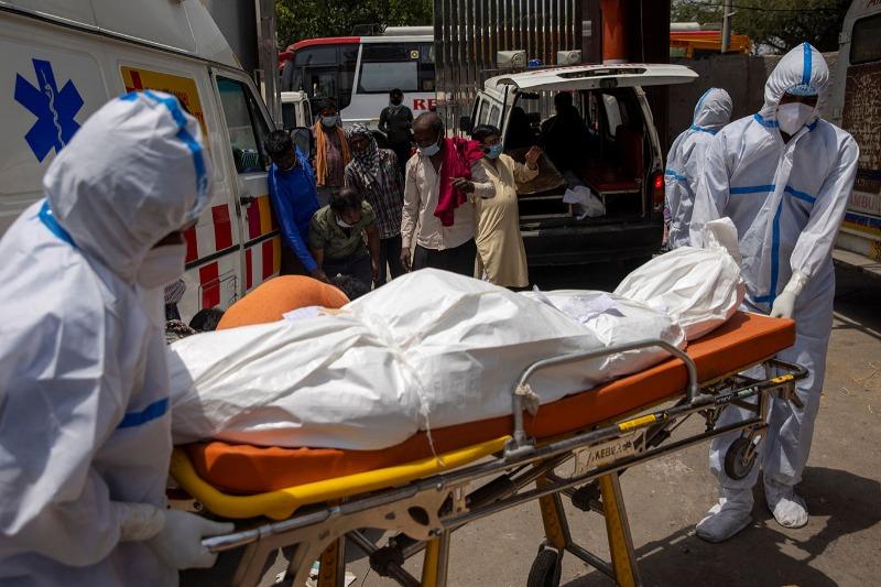 Com 368 mil casos em 24h, Índia atinge 20 milhões de infecções Covid-19