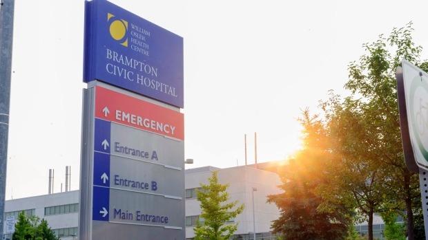 Quase 140 pacientes são transferidos do Brampton Civic devido a lotação