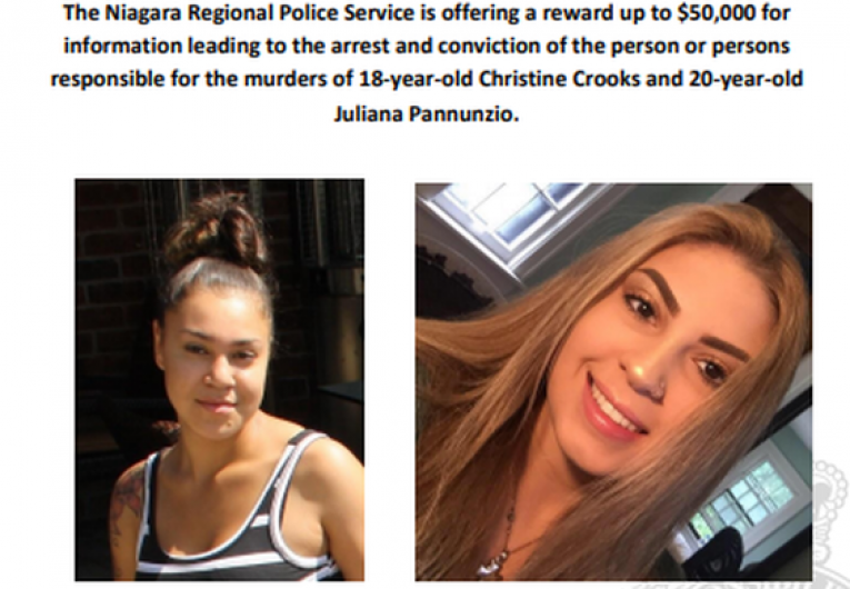 A Polícia de Niágara oferece uma recompensa de US$ 50.000 por informações sobre um assassinato duplo em um Airbnb