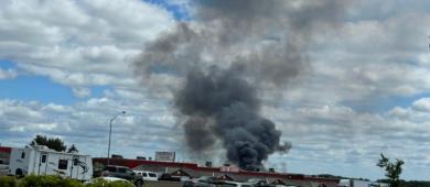 Explosão na instalação de propano atinge a parte sul de Barrie