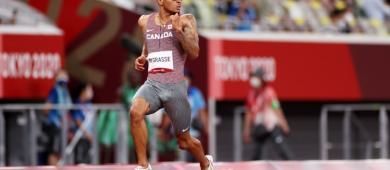 Andre De Grasse bate recorde canadense e disputará o ouro olímpico na final masculina dos 200m