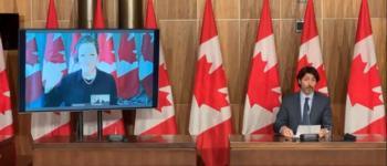 Canadá vai estender subsídio de salário e aluguel até junho, anuncia Justin Trudeau