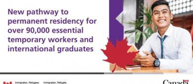 BREAKING NEWS: Canadá anuncia novos caminhos de imigração com 90.000 vagas para a residência permanente