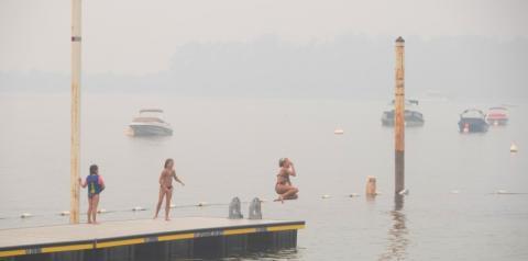 Perigo de incêndio florestal diminuído devido à chuva em B.C., mas o alívio não durará, alertam as autoridades