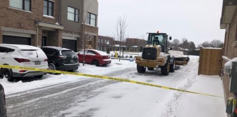 Arado de neve atinge crianças perto de escola de Whitby; uma vítima gravemente ferida