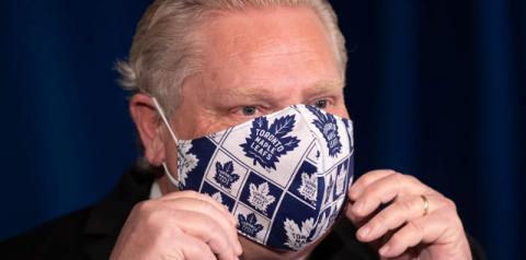 Breaking: Ontário oficialmente na 3ª onda da pandemia com novas variantes sendo metade das infecções