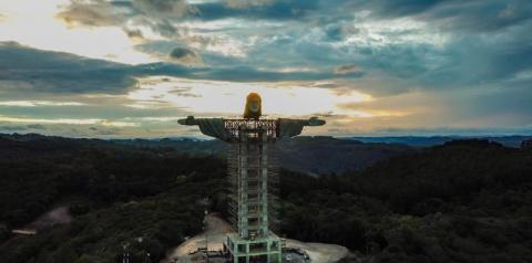 Cidade no sul do Brasil terá estátua de Cristo maior que a do Rio de Janeiro