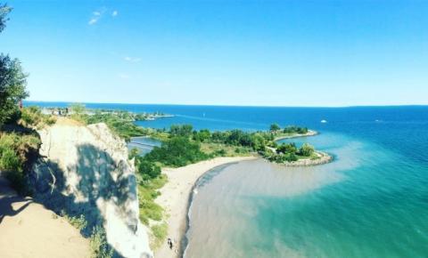 Confira as praias seguras e limpas de Toronto para nadar neste verão