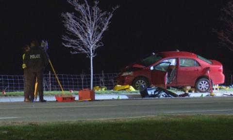 Grave acidente em Brampton deixa uma mulher morta na madrugada