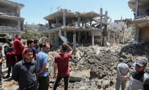 52 mil estão desalojados em Gaza, afirma a ONU