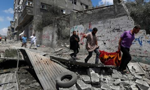 Israel concorda com cessar-fogo com Palestina na Faixa de Gaza