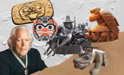 Museus e arquivos canadenses homenageiam 101 anos do artista plástico Bill Reid