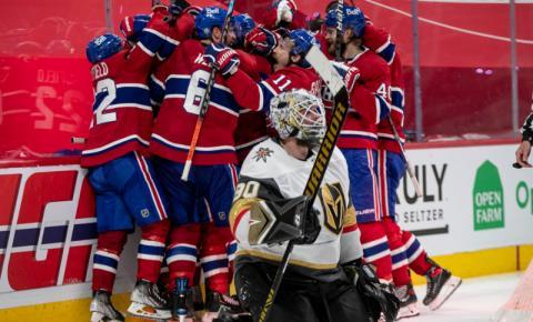 O céu está azul, branco e vermelho! O Canadiens voltou à final da Stanley Cup!