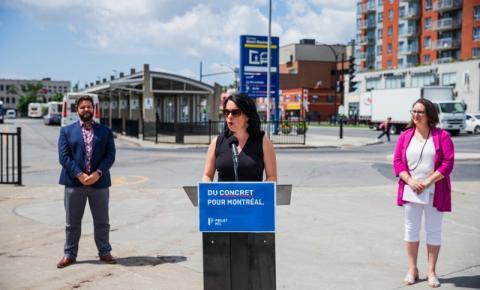 Valérie Plante promete transporte público gratuito para idosos