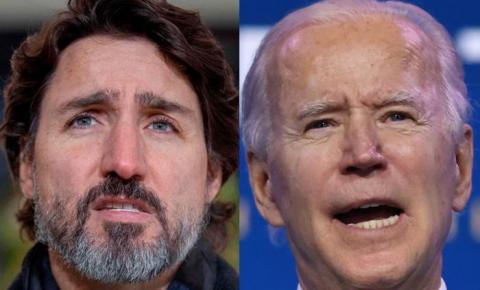 CANADÁ Trudeau se diz decepcionado com Biden e será o 1º líder mundial a se reunir com ele