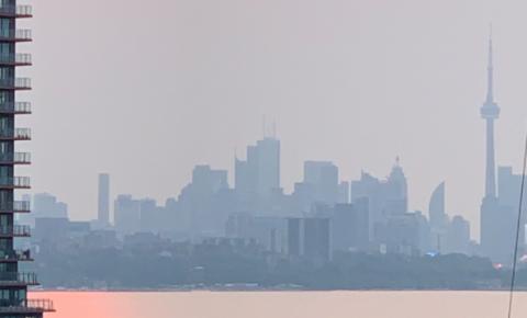 Aviso especial de qualidade do ar é emitido para o sul de Ontário devido à fumaça do incêndio florestal