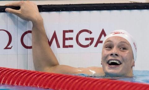 Penny Oleksiak dá outra chance ao recorde de medalhas canadense