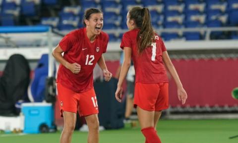 Canadá ganha ouro no futebol feminino nas Olimpíadas de Tóquio
