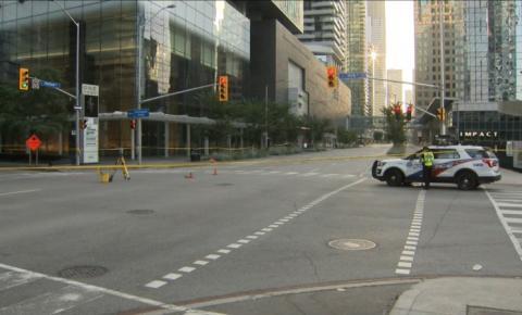 Uma pessoa presa após pedestre ser morto em atropelamento no centro da cidade
