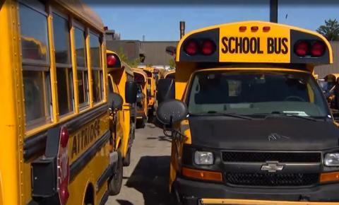 Quase 200 atrasos de ônibus escolares relatados na região de York nesta quinta-feira