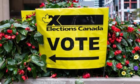 Como votar nas eleições federais do Canadá?