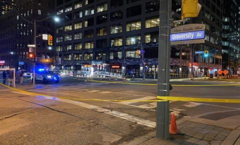 Pedestre ferido em atropelamento no centro da cidade