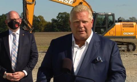 Ford diz que apenas imigrantes 'trabalhadores' são bem-vindos em Ontário