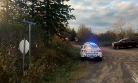 Menino de sete anos morre depois de ficar preso sob uma tora de madeira perto de Southampton, Nova Scotia