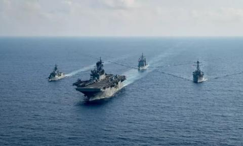 Biden manda navio de guerra a Estreito de Taiwan