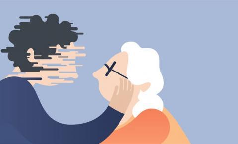 Fevereiro Roxo: insônia e problemas de concentração podem ser sintomas de Alzheimer