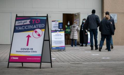 Novas Infecções Covid-19 caem pelo 4º dia consecutivo em Ontário