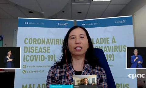 3ª onda Covid-19 pode ser cruel para o Canadá, com mais de 20.000 novas infecções/dia