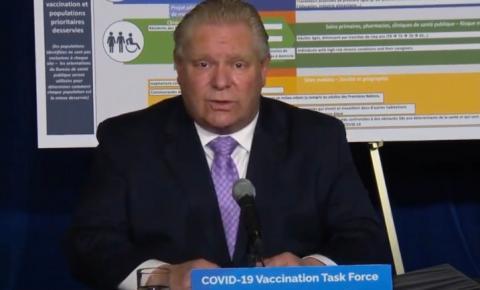 Premier de Ontario anuncia extensão das ordens de emergência para Toronto e outras regiões