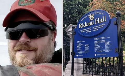 Homem fortemente armado que invadiu Rideau Hall é sentenciado hoje