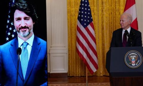 Reunião com Biden fortaleceu laços históricos entre Canadá e EUA, diz Justin Trudeau