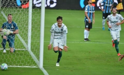 Palmeiras vence a 1ª partida contra o Grêmio pela final da Copa do Brasil