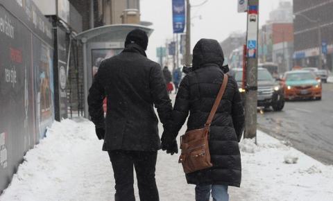 Alerta de frio extremo é emitido em Toronto