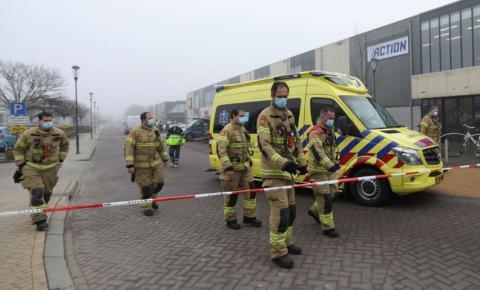 Holanda: polícia classifica como ataque explosão em centro de testes de covid-19