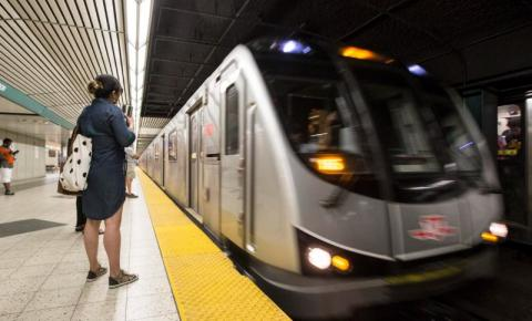 Metrô TTC terá estações fechadas no fim de semana e na semana que vem; veja quais