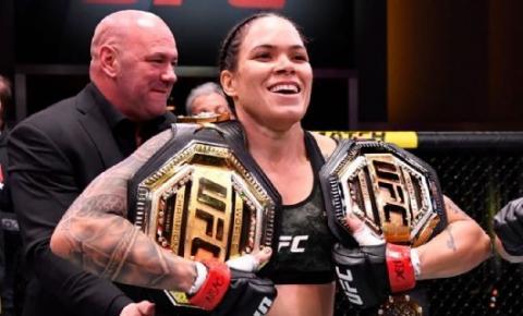 AMANDA NUNES SE TORNA UMA LENDA DO UFC