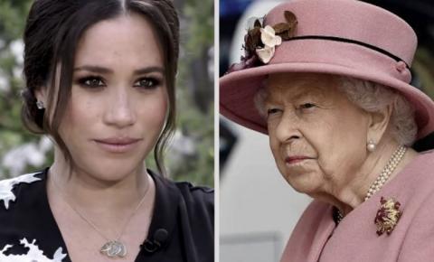 Rainha Elizabeth II se pronuncia sobre entrevista de Meghan Markle