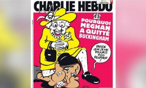 Revista Charlie Hebdo iguala 'acusações' feitas por Meghan Markle ao assassinato de George Floyd