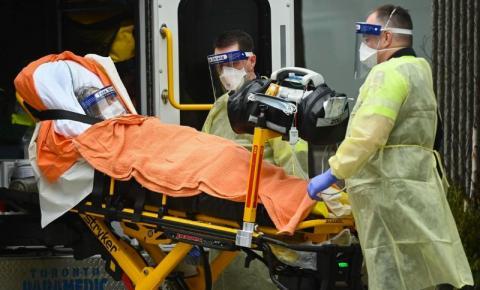BREAKING: Ontário tem maior salto diário de infecções Covid-19 desde janeiro, com 2.380 casos