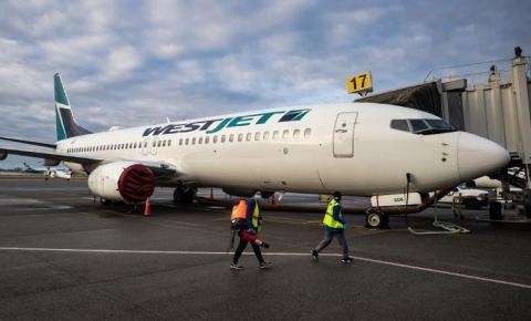 WestJet adicionando rotas no oeste do Canadá em antecipação à demanda do verão