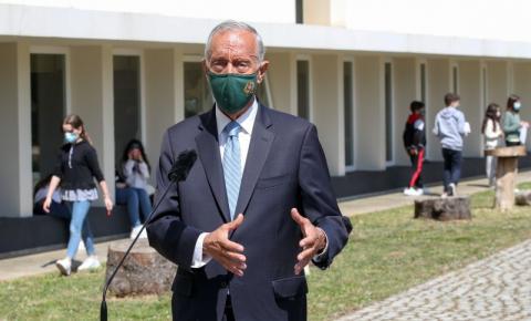 Marcelo espera que estado de emergência termine em abril e dê lugar a
