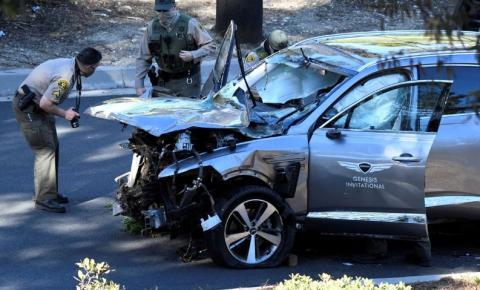 Velocidade excessiva foi causa principal do acidente de Tiger Woods