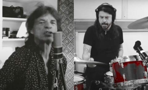 Mick Jagger lança música em parceria com Dave Grohl para celebrar fim do lockdown; assista agora