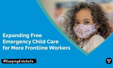 Ontário vai oferecer creche grátis para filhos de trabalhadores da linha de frente da pandemia